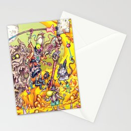Low Life Adventurerers Stationery Cards