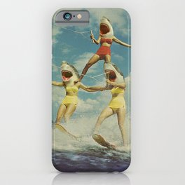 On Evil Beach - Sharks iPhone Case