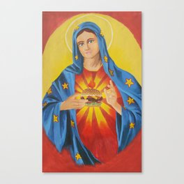Our Lady of the 6 Dollar Burger Canvas Print