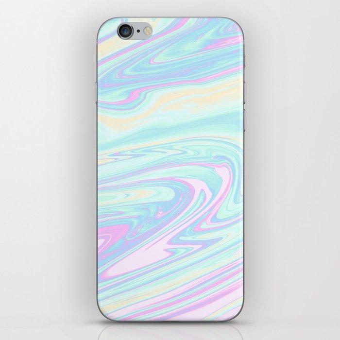 Bubblegum Marble iPhone Skin