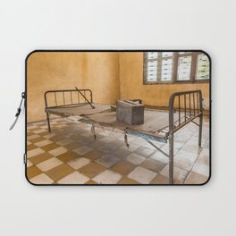 S21 Building B Cell II - Khmer Rouge, Cambodia Laptop Sleeve