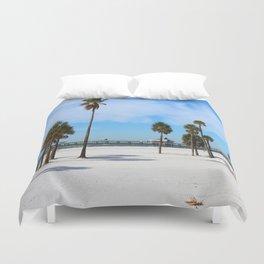 A Florida Winterday Duvet Cover