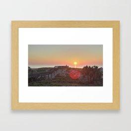 Atlantic Coast Sunrise Framed Art Print