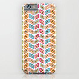 Music tape color fantasy iPhone Case