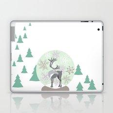 Reindeer Snowglobe Laptop & iPad Skin