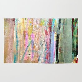 Colorful Bohemian Abstract 1 Rug