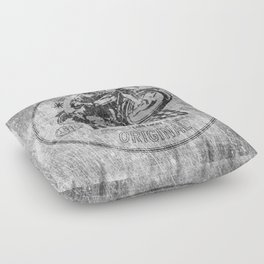 British Rockers 1967 Floor Pillow