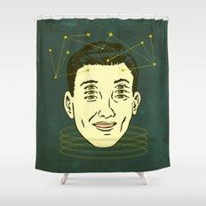 headache highness Shower Curtain