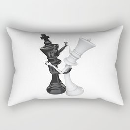 Chess dancers Rectangular Pillow