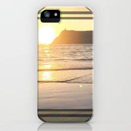 Port Erin - square diamond graphic iPhone Case