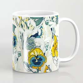 vintage floral pattern 3 Coffee Mug