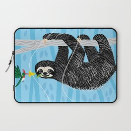 The Sloth and The Hummingbird Laptop Sleeve