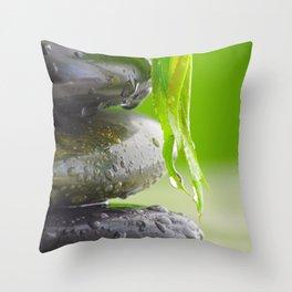 Wellness Stones Throw Pillow