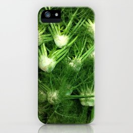 Green Vegetable iPhone Case