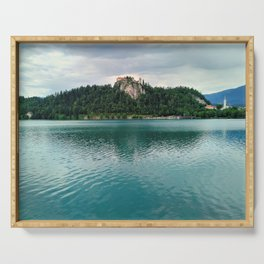 The Magical Lake Bled (Slovenia) Serving Tray