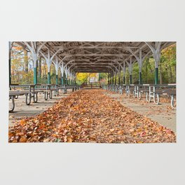 North Point Trolley Pavilion Rug