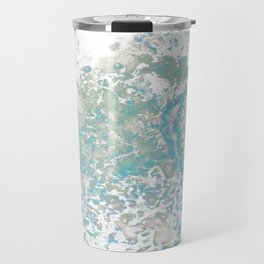 Blue Nebula Travel Mug