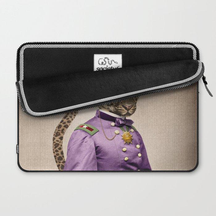 Grand Viceroy Leopold Leopard Laptop Sleeve