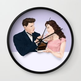 birthday treat Wall Clock