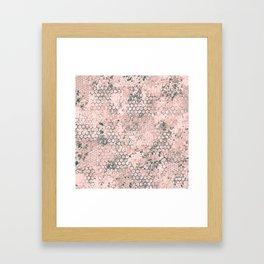Blush Odyssey Framed Art Print