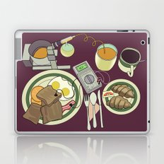 Breakfast, the Most Important Meal of the Day Laptop & iPad Skin