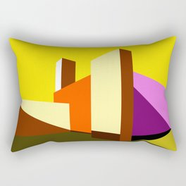Casa Barragán Modern Architecture Rectangular Pillow