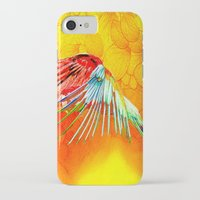 parrot iPhone & iPod Cases featuring Parrot by Ganech joe