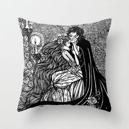 Enveloped in Darkness 2012 Throw Pillow