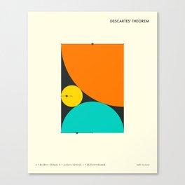 DESCARTES' THEOREM Canvas Print