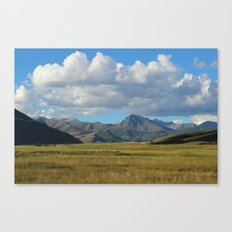 Nubarrón  Canvas Print