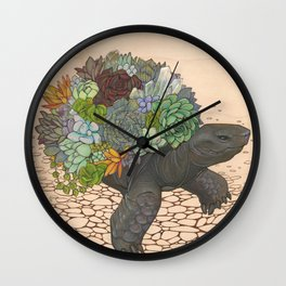 Cultivated Wall Clock