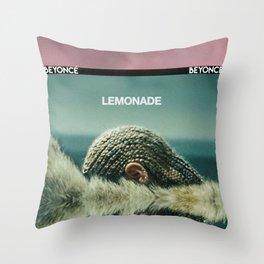 Lemonade Cover. Throw Pillow