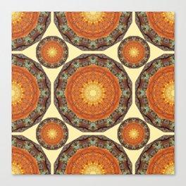 Rust-Art / mandala-style-rust Canvas Print