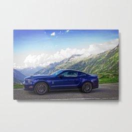 2012 Shelby GT-500 Swiss Alps Metal Print