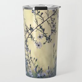 Wild Asters Botanical Travel Mug