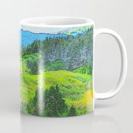 Alaska's Kenai Peninsula - Watercolor Coffee Mug