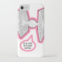 Tie Fighter Shopping iPhone Case