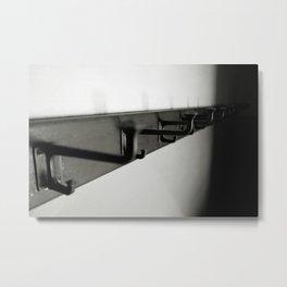 Coat hangers 1... Metal Print