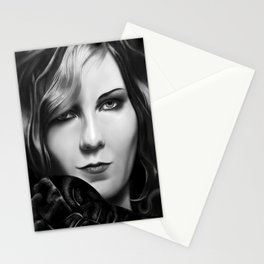 Kirsten Dunst by A.Harrison Stationery Cards