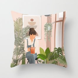 This is a place where I feel at home II Throw Pillow