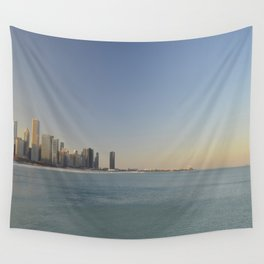 Chicago skyline #1 Wall Tapestry