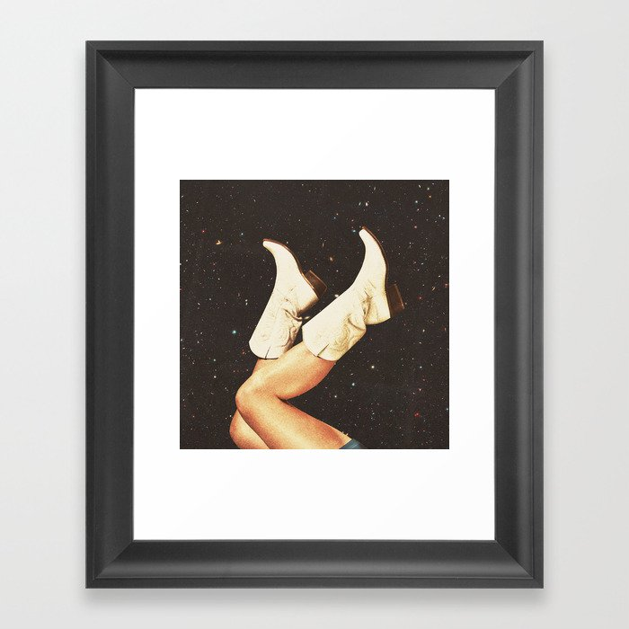 These Boots - Space Gerahmter Kunstdruck