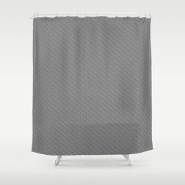 Emboss Gray Cross Hatch Shower Curtain