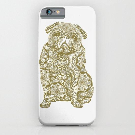 Mandala Pug iPhone & iPod Case