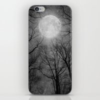 tolkien iPhone & iPod Skins featuring May It Be A Light (Dark Forest Moon) by soaring anchor designs