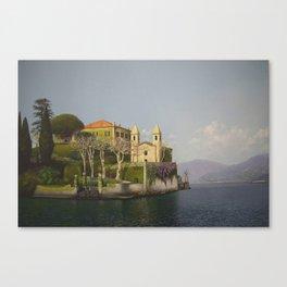 Villa at Lake Como Canvas Print