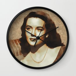 Dorothy Malone, Hollywood Legend Wall Clock