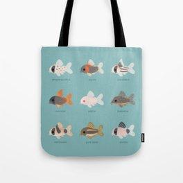 Corydoras! Tote Bag