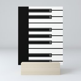 Ebony & Ivory Mini Art Print
