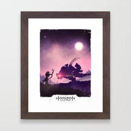 Thunderjaw Hunting Framed Art Print